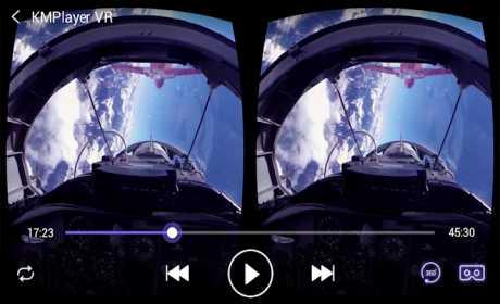 KMPlayer VR (360degree, Virtual Reality)