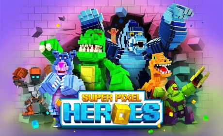 Pixel Heroes : Battle Royal
