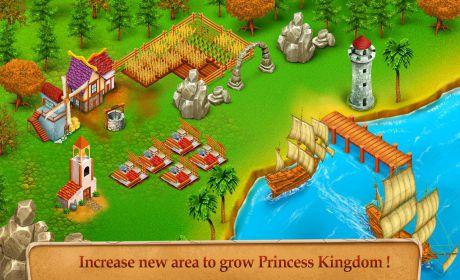 Princess Kingdom City Builder