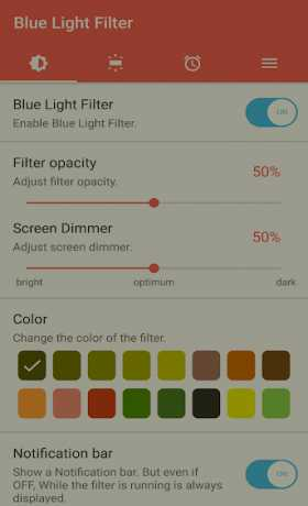 sFilter - Blue Light Filter