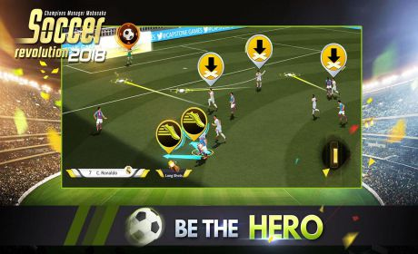 Soccer Revolution 2018: 3D Real Player MOBASAKA