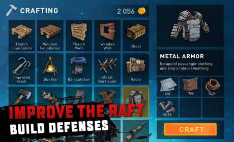 Survival on Raft 1 60 Apk + Mod Money android download