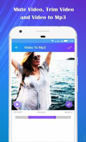 Video to Mp3 : Mute Video /Trim Video/Cut Video