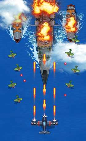 1945 Air Forces 5.18 Apk + Mod (Free Shopping) android