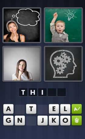 4 Pics 1 Word