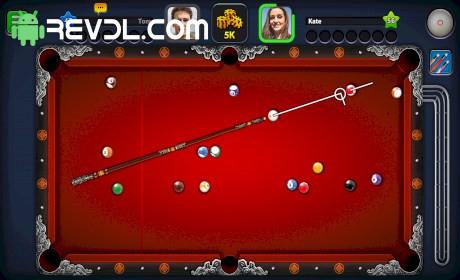8 ball pool mod apk long line