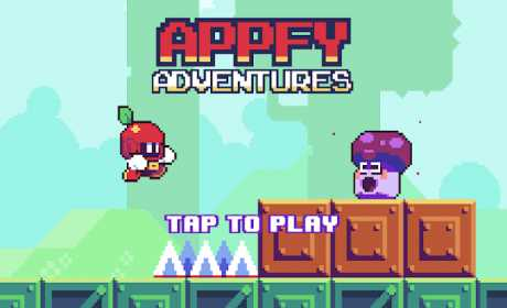 Appfy 2D Adventure - Hard one tap jump and run