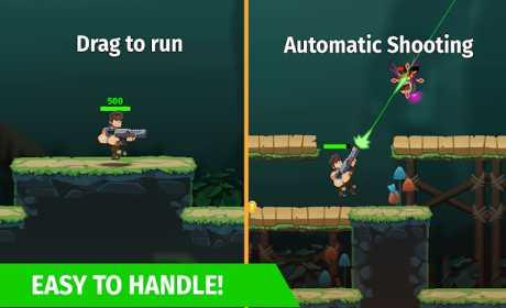 Auto Hero: Auto-fire platformer