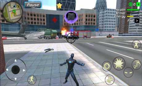 Black Hole Hero : Vice Vegas Rope Mafia