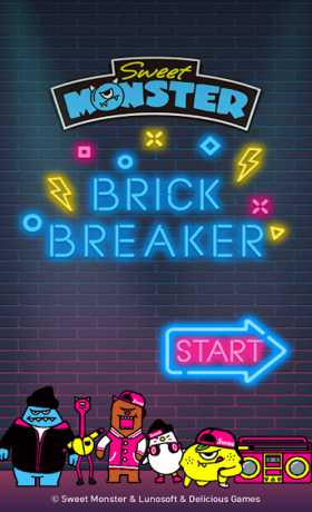 Brick Breaker: Sweet Monster