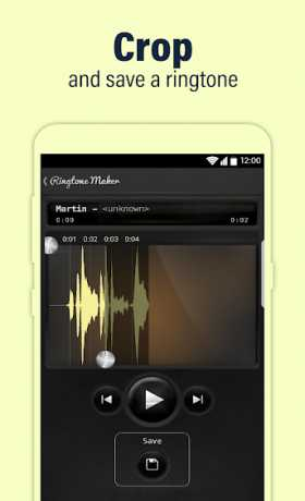 Call Ringtone Maker - MP3 and Music Cutter