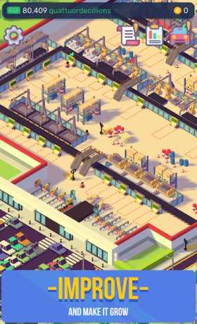 Car Industry Tycoon - Idle Car Factory Simulator