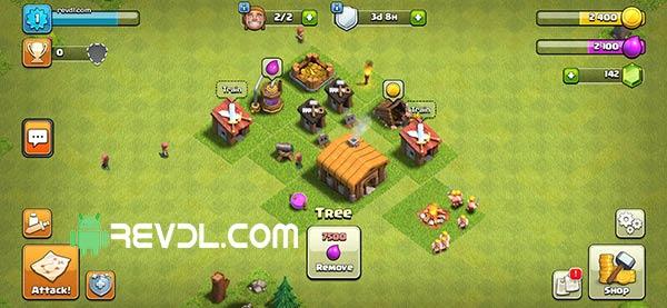 download Clash of clans mod apk