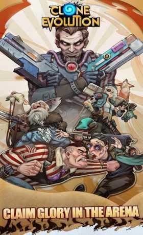 Clone Evolution: Cyber War-Borderlands Fantasy