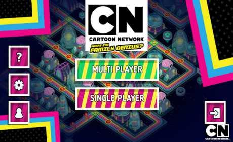 CN Cartoon Network: Who's the Family Genius?