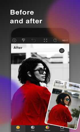 Color Pop Effects : Black & White Photo Editor