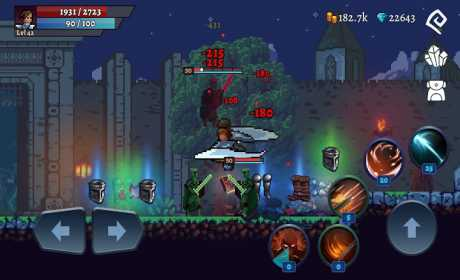 Darkrise – Pixel Classic Action RPG 0.4.11.4 Apk + Mod (Unlimited Money/Gold) for android