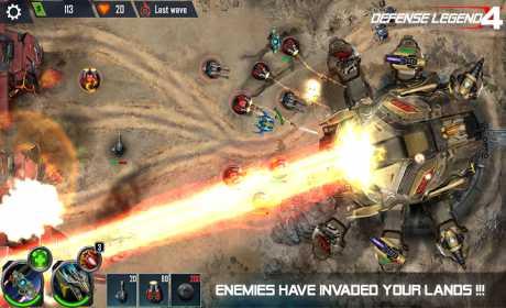 Defense Legend 4: Sci-Fi Tower defense