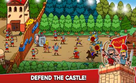 Empire Rush: Rome Wars & Defense (Tower Game)