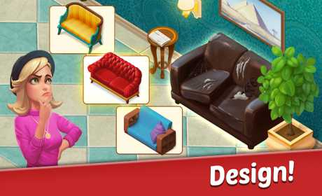 Family Hotel: Renovate and design match-3 game