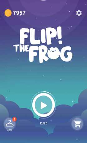 Flip! the Frog - Best of free casual arcade games
