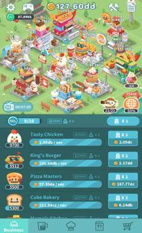Foodpia Tycoon - Idle restaurant 1 3 23 Apk + Mod (Unlimited Money