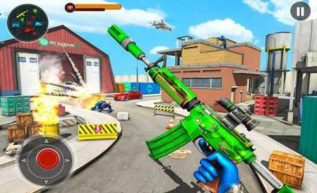 FPS Robot Shooting Strike : Counter Terrorist Game