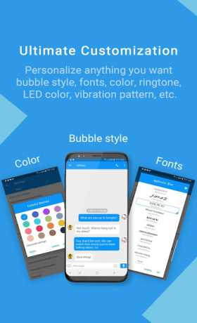 Handcent Next SMS(Best texting with MMS, stickers)
