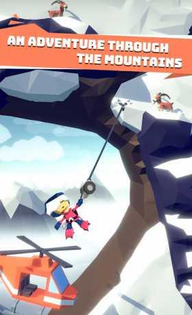 Hang Line: Mountain Climber