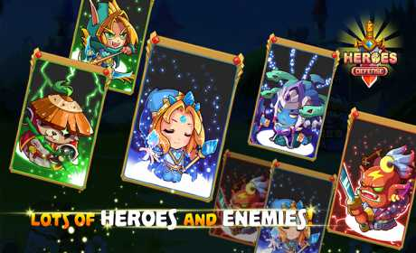 Heroes Defender Fantasy - Epic Tower Defense Game
