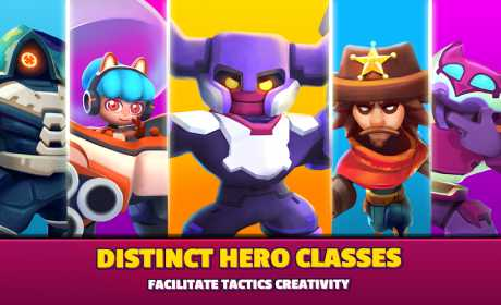 Heroes Strike - Brawl Shooting Multiple Game Modes