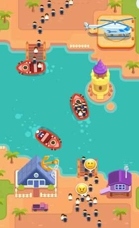 Idle Ferry Tycoon - Clicker Fun Game
