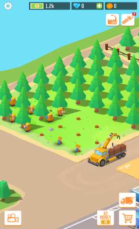 Idle Lumber: Factory Tycoon