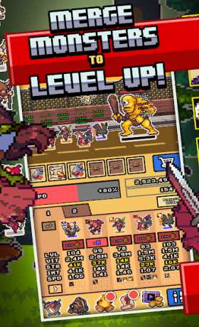 Idle Monster Frontier - team rpg collecting game
