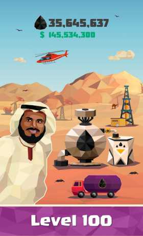 Idle Oil Tycoon: Gas Factory Simulator