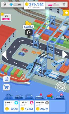 Idle Port Tycoon 3.1 Apk + Mod (Unlimited Money) android