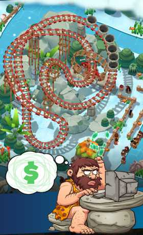 Idle Prehistoric Park - Theme Park Tycoon