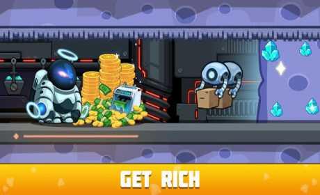 Idle Space Miner - Idle Cash Mine Simulator