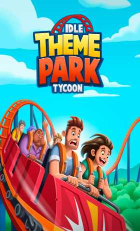Idle Theme Park Tycoon 1 27 Apk + Mod (Unlimited Money) android