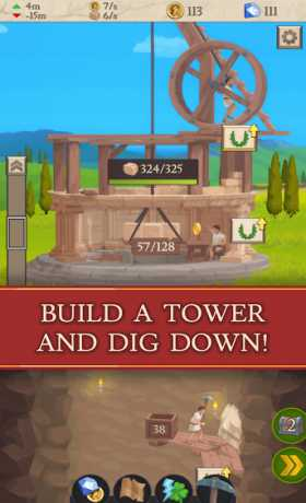 Idle Tower Miner - Mine and Build
