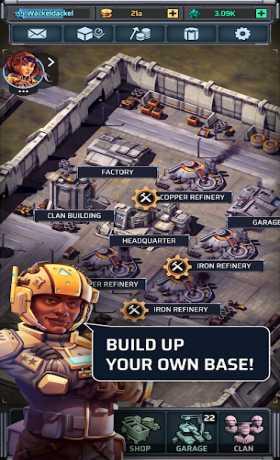 Idle War – Tank Tycoon