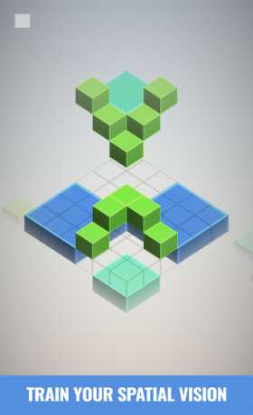 Isometric Squared Squares - 2D/3D puzzle game