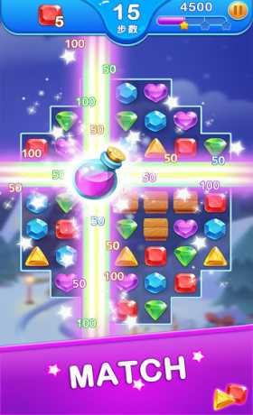 Jewel Blast Dragon - Match 3 Puzzle