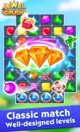 Jewel Crush™ - Jewels & Gems Match 3 Legend