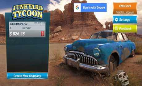 Junkyard Tycoon - Car Business Simulation Game