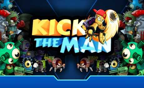 Kick the Man - Free shooting Action platformer