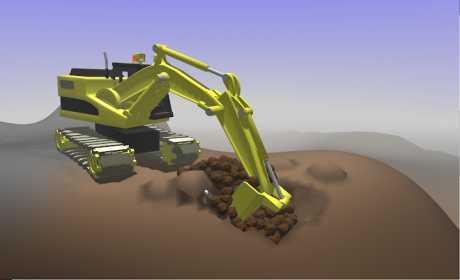 Little Crane 2: Mud Play