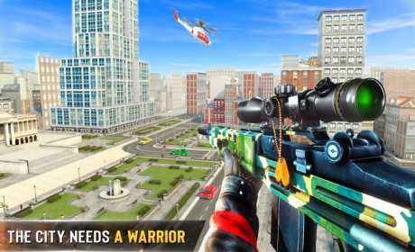 New Sniper Shooter: Free offline 3D shooting games