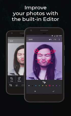 Piktures Gallery - Photo, Editor & Video player