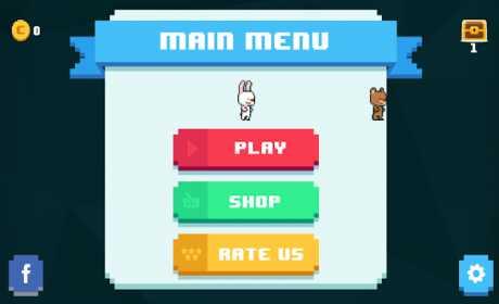 Rabbit Runner -  Pixel Jump & Adventure Platformer